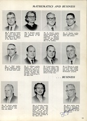 Page 17, 1961 Edition, Central High School - Cehisean Yearbook (St Paul, MN) online yearbook collection