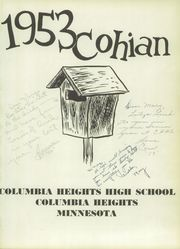 Page 5, 1953 Edition, Columbia Heights High School - Cohian Yearbook (Columbia Heights, MN) online yearbook collection
