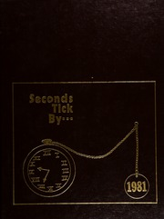 1981 Edition, Hastings High School - Seconds Tick By Yearbook (Hastings, MN)