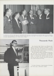 Page 8, 1959 Edition, John Marshall High School - Rochord Yearbook (Rochester, MN) online yearbook collection