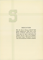 Page 8, 1932 Edition, South High School - Tiger Yearbook (Minneapolis, MN) online yearbook collection