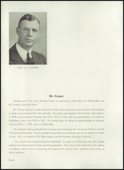 Page 10, 1938 Edition, Robbinsdale High School - Robin Yearbook (Robbinsdale, MN) online yearbook collection