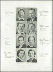 Page 15, 1938 Edition, Robbinsdale High School - Robin Yearbook (Robbinsdale, MN) online yearbook collection
