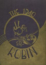 Page 1, 1940 Edition, Robbinsdale High School - Robin Yearbook (Robbinsdale, MN) online yearbook collection