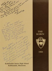 Page 5, 1960 Edition, Robbinsdale High School - Robin Yearbook (Robbinsdale, MN) online yearbook collection