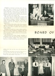 Page 10, 1952 Edition, Washburn High School - Wahian Yearbook (Minneapolis, MN) online yearbook collection