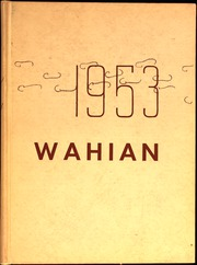 1953 Edition, Washburn High School - Wahian Yearbook (Minneapolis, MN)