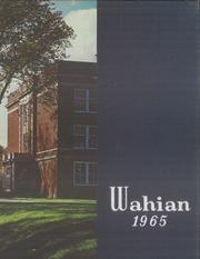 1965 Washburn High School Wahian Yearbook Minneapolis MN