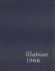 1966 Edition, Washburn High School - Wahian Yearbook (Minneapolis, MN)