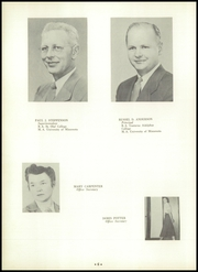 Page 10, 1952 Edition, Park Rapids High School - Panthers Yearbook (Park Rapids, MN) online yearbook collection