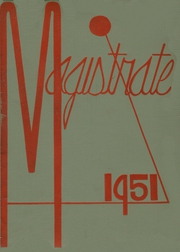 Page 1, 1951 Edition, Marshall High School - Magistrate Yearbook (St Paul, MN) online yearbook collection