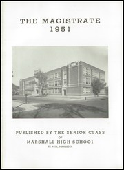 Page 5, 1951 Edition, Marshall High School - Magistrate Yearbook (St Paul, MN) online yearbook collection