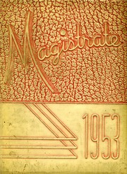 1953 Edition, Marshall High School - Magistrate Yearbook (St Paul, MN)