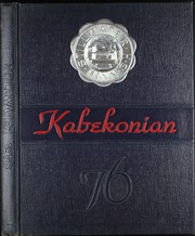 1976 Edition, Stillwater High School - Kabekonian Yearbook (Stillwater, MN)