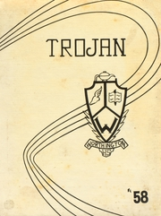 1958 Edition, Worthington High School - Trojan Yearbook (Worthington, MN)