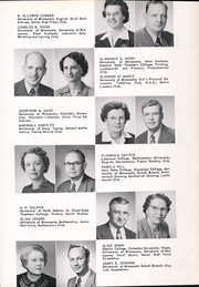 Page 17, 1953 Edition, East High School - Birch Log Yearbook (Duluth, MN) online yearbook collection
