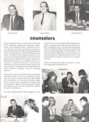 Page 13, 1968 Edition, East High School - Birch Log Yearbook (Duluth, MN) online yearbook collection