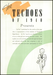 Page 5, 1940 Edition, Technical High School - Techoes Yearbook (St Cloud, MN) online yearbook collection