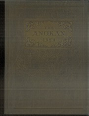 1929 Edition, Anoka High School - Anokan Yearbook (Anoka, MN)