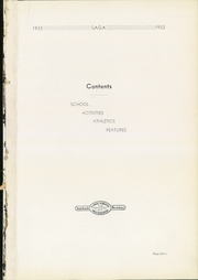 Page 7, 1933 Edition, Harding High School - Saga Yearbook (St Paul, MN) online yearbook collection