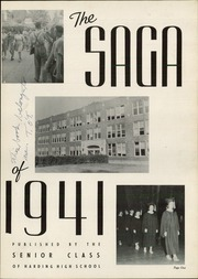 Page 5, 1941 Edition, Harding High School - Saga Yearbook (St Paul, MN) online yearbook collection
