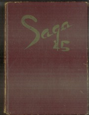 Page 1, 1945 Edition, Harding High School - Saga Yearbook (St Paul, MN) online yearbook collection