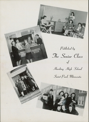 Page 6, 1945 Edition, Harding High School - Saga Yearbook (St Paul, MN) online yearbook collection