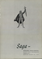 Page 5, 1955 Edition, Harding High School - Saga Yearbook (St Paul, MN) online yearbook collection