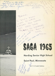 Page 7, 1965 Edition, Harding High School - Saga Yearbook (St Paul, MN) online yearbook collection