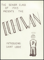 Page 5, 1945 Edition, St Louis Park High School - Echowan Yearbook (St Louis Park, MN) online yearbook collection