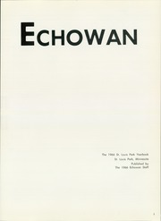 Page 5, 1966 Edition, St Louis Park High School - Echowan Yearbook (St Louis Park, MN) online yearbook collection