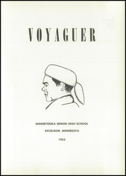 Page 5, 1953 Edition, Minnetonka High School - Voyageur Yearbook (Excelsior, MN) online yearbook collection