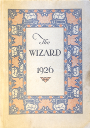 1926 Edition, Edison High School - Wizard Yearbook (Minneapolis, MN)