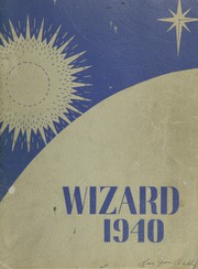1940 Edition, Edison High School - Wizard Yearbook (Minneapolis, MN)