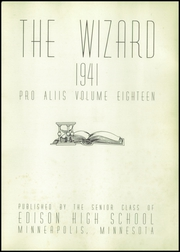 Page 5, 1941 Edition, Edison High School - Wizard Yearbook (Minneapolis, MN) online yearbook collection