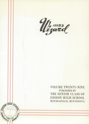 Page 5, 1953 Edition, Edison High School - Wizard Yearbook (Minneapolis, MN) online yearbook collection