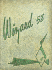 1958 Edition, Edison High School - Wizard Yearbook (Minneapolis, MN)