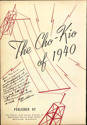Page 8, 1940 Edition, Moorhead High School - Cho Kio Yearbook (Moorhead, MN) online yearbook collection