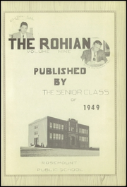 Page 7, 1949 Edition, Rosemount High School - Rohian Yearbook (Rosemount, MN) online yearbook collection