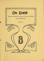 Page 4, 1907 Edition, Central High School - Zenith Yearbook (Duluth, MN) online yearbook collection