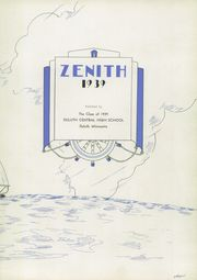 Page 7, 1939 Edition, Central High School - Zenith Yearbook (Duluth, MN) online yearbook collection