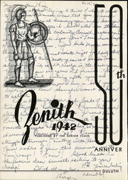 Page 8, 1942 Edition, Central High School - Zenith Yearbook (Duluth, MN) online yearbook collection