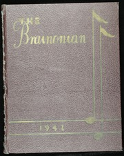 1942 Edition, Brainerd High School - Brainonian (Brainerd, MN)