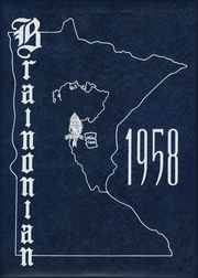 Page 1, 1958 Edition, Brainerd High School - Brainonian (Brainerd, MN) online yearbook collection