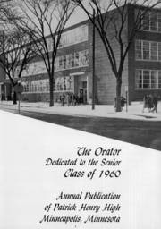 Page 5, 1960 Edition, Patrick Henry High School - Orator Yearbook (Minneapolis, MN) online yearbook collection