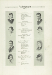 Page 11, 1919 Edition, Winona High School - Radiograph Yearbook (Winona, MN) online yearbook collection