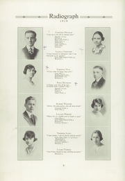 Page 12, 1919 Edition, Winona High School - Radiograph Yearbook (Winona, MN) online yearbook collection