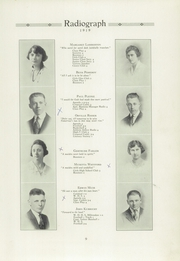 Page 13, 1919 Edition, Winona High School - Radiograph Yearbook (Winona, MN) online yearbook collection