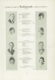 Page 15, 1919 Edition, Winona High School - Radiograph Yearbook (Winona, MN) online yearbook collection