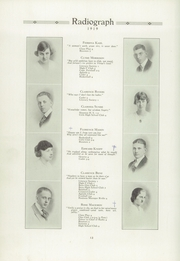 Page 16, 1919 Edition, Winona High School - Radiograph Yearbook (Winona, MN) online yearbook collection